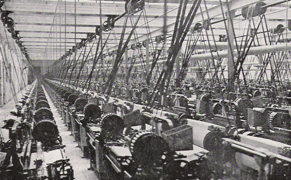 Old Cotton Mill Lancashire