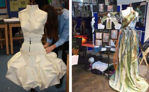 GCSE Art and Design Textiles