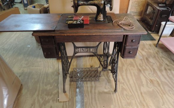 Antique Singer Treadle Sewing