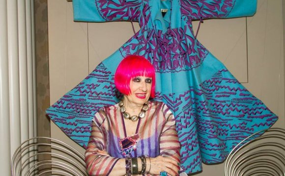 More precisely, Zandra Rhodes