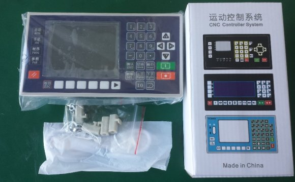 4 axis 3.5 Inch Color LCD CNC
