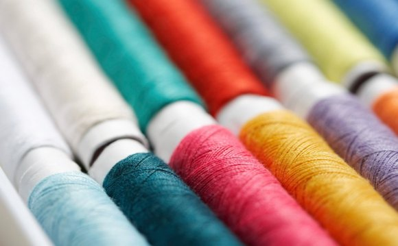 Close up of cotton rolls