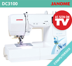 Beginner Sewing Machine - Janome DC3100