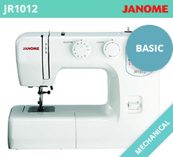 Beginner Sewing Machine - Janome JR1012