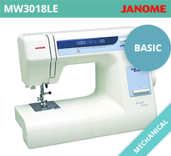 Beginner Sewing Machine - Janome MW3018LE
