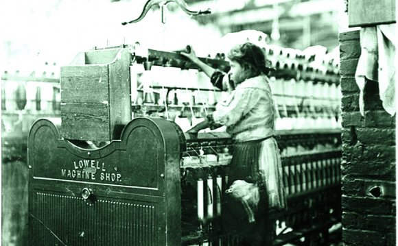 Textile factories Industrial Revolution