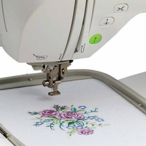 pe770 Brother embroidery machine - large embroidery area