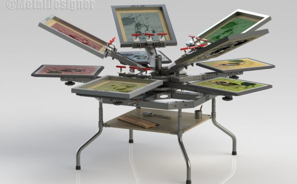 Screen Printing Unit