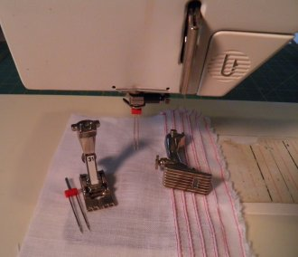 Sewing Machine and Pintuck Feet
