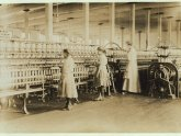 Textile machines in the Industrial Revolution