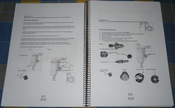 Industrial Sewing Machine manuals